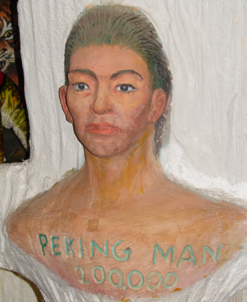 Peking-Man bust