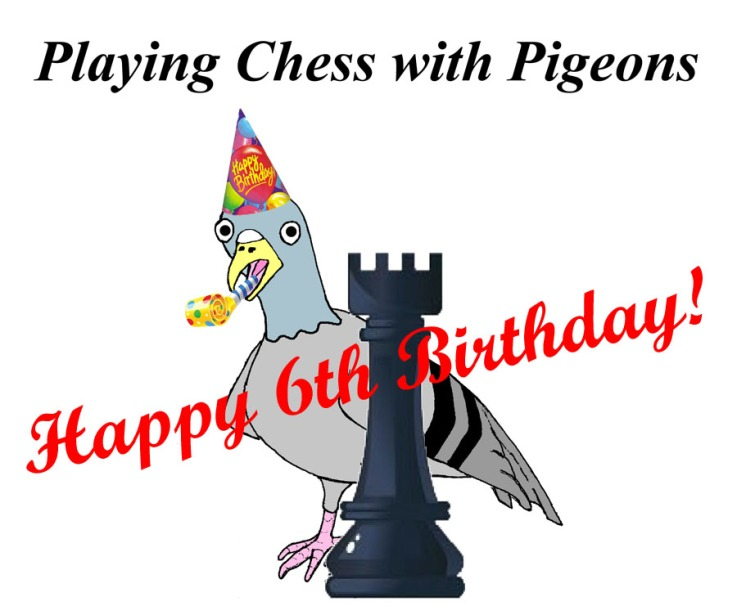 6th birthday pigeon