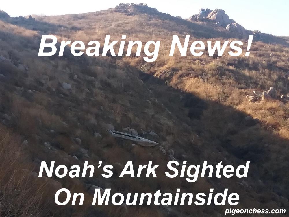 Noah's Ark Sighted